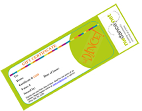 NW Dance Gift Certificate